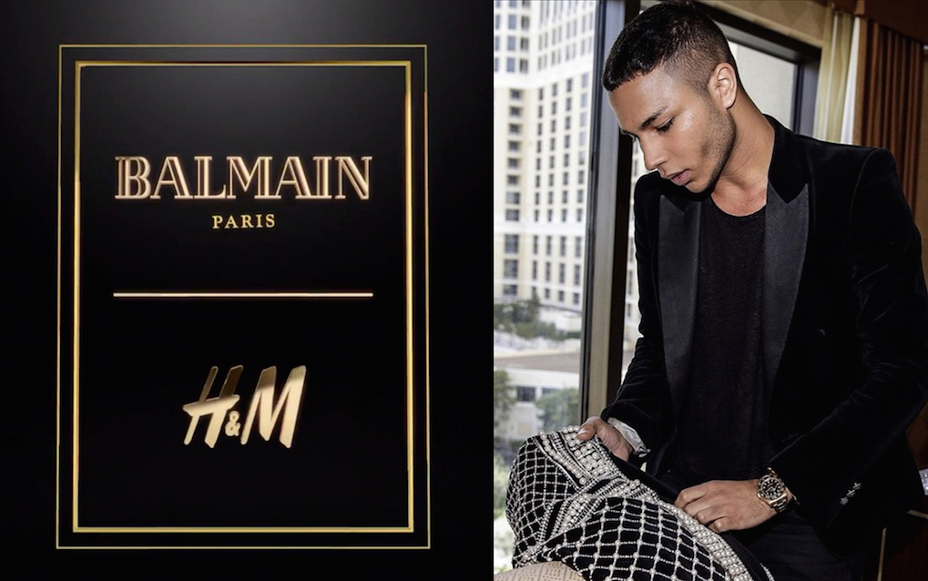 FASHION: BALMAIN x H&M