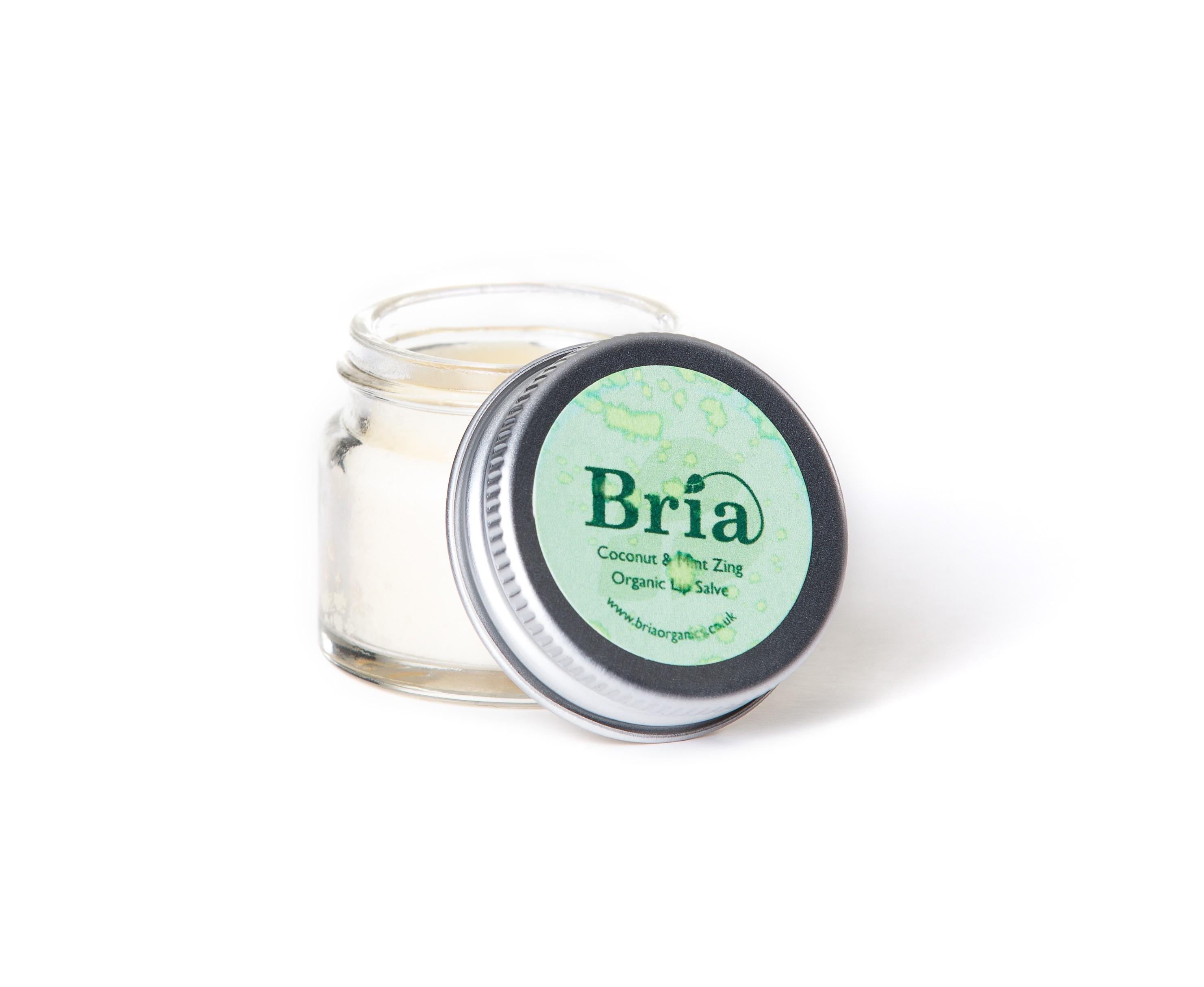 Bria Organics - Mint & Coconut Lip Balm