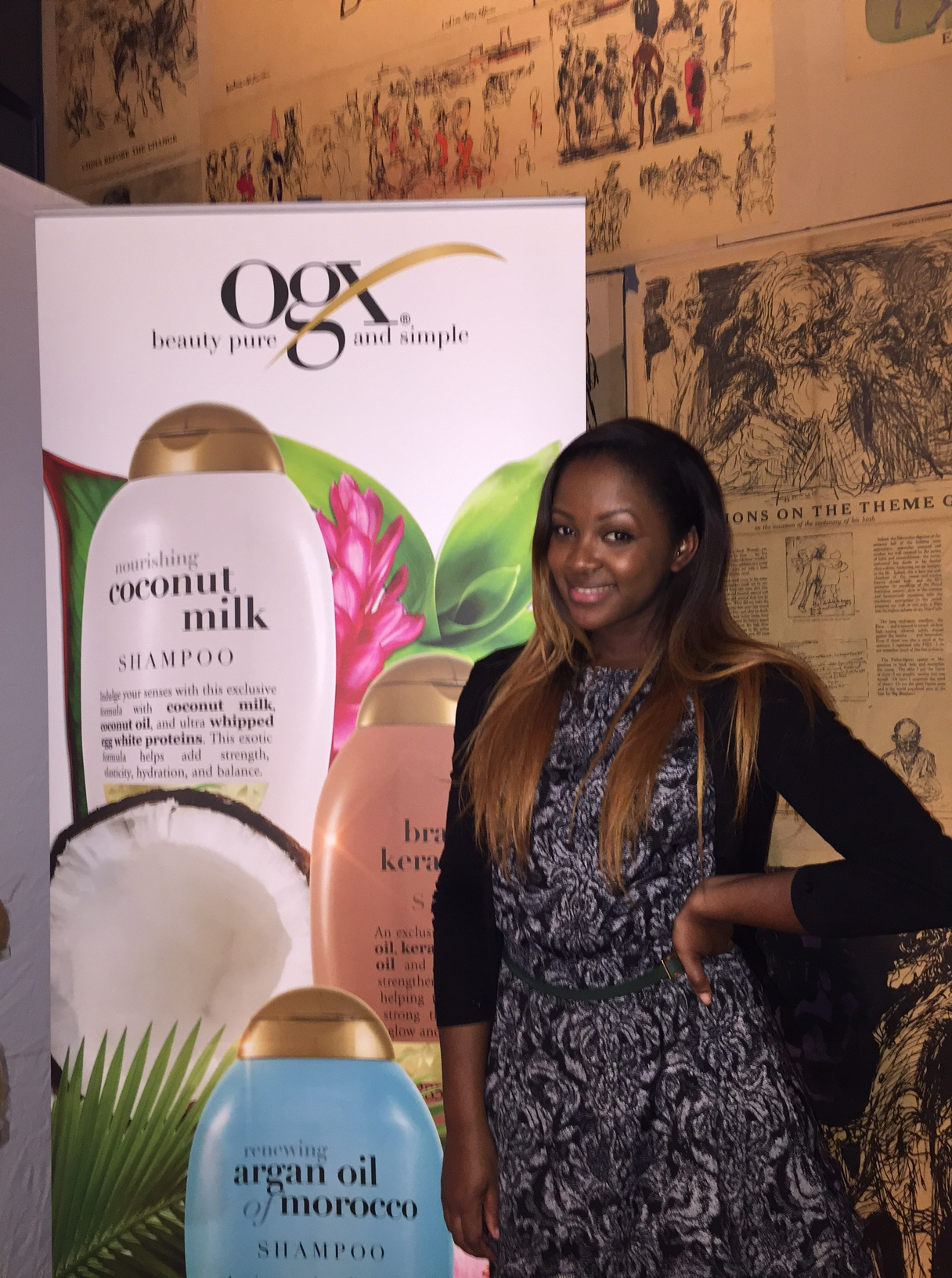 OGX Haire Care Launch: Introducing Quenching+ Coconut Curls