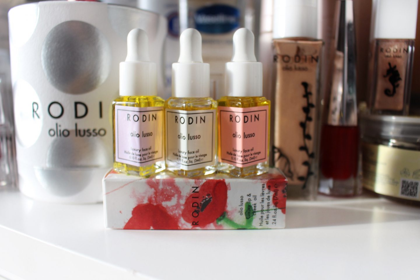 Christmas Gift Guide: Rodin olio lusso | Luxury Face Oil Mini Trio Coffret